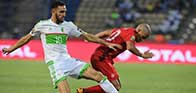 ملخص المباراة المثيرة بين الجزائر وتونس