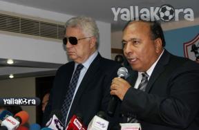 عبدالباقي وميدو في مؤتمر عودة شيكابالا