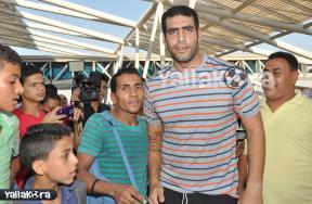 استقبال حافل لصاحب انجاز مصر في العاب القوى