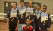 افتتاح أول ملعب كرة قدم للمكفوفين في الأرجنتين