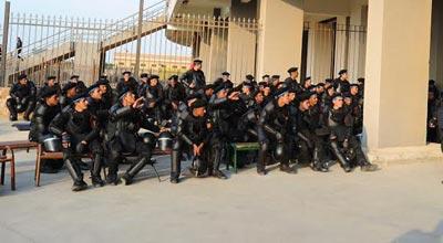 تعزيزات أمنية مكثفة لملعب الاسكندرية قبل لقاء الرجاء والزمالك