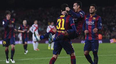 برشلونة يبدأ عطلته الشتوية حتى 30 ديسمبر