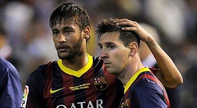 ميسي حول مستقبله مع برشلونة: الكرة