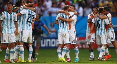 بيجليا لاعب الأرجنتين: لن نكتفي فقط بالوصول إلى المربع الذهبي