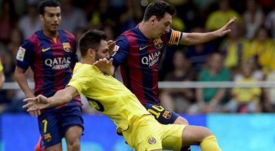 البديل راميريز يغرق غواصة فياريال ليطفو برشلونة على سطح صدارة الليجا.. فيديو وصور