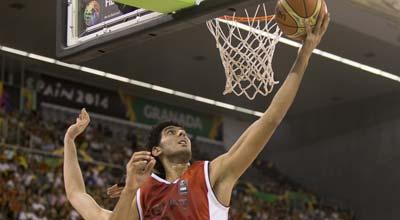 مصر - اسبانيا كرة سلة