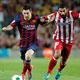 برشلونة مدعوما بهدف ميسي في ضيافة اتليتكو مدريد بإياب ربع نهائي كأس إسبانيا