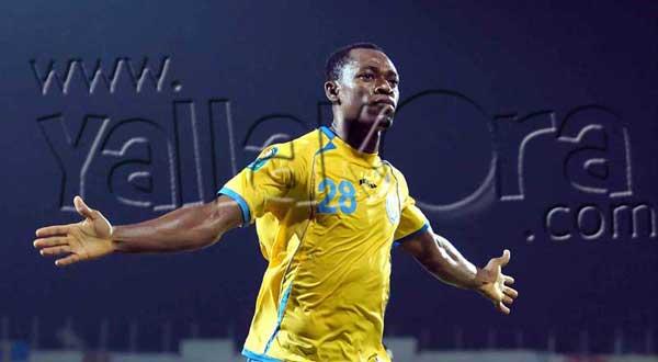 بدأ اللاعب النيجيرى جودوين فى إجراءات